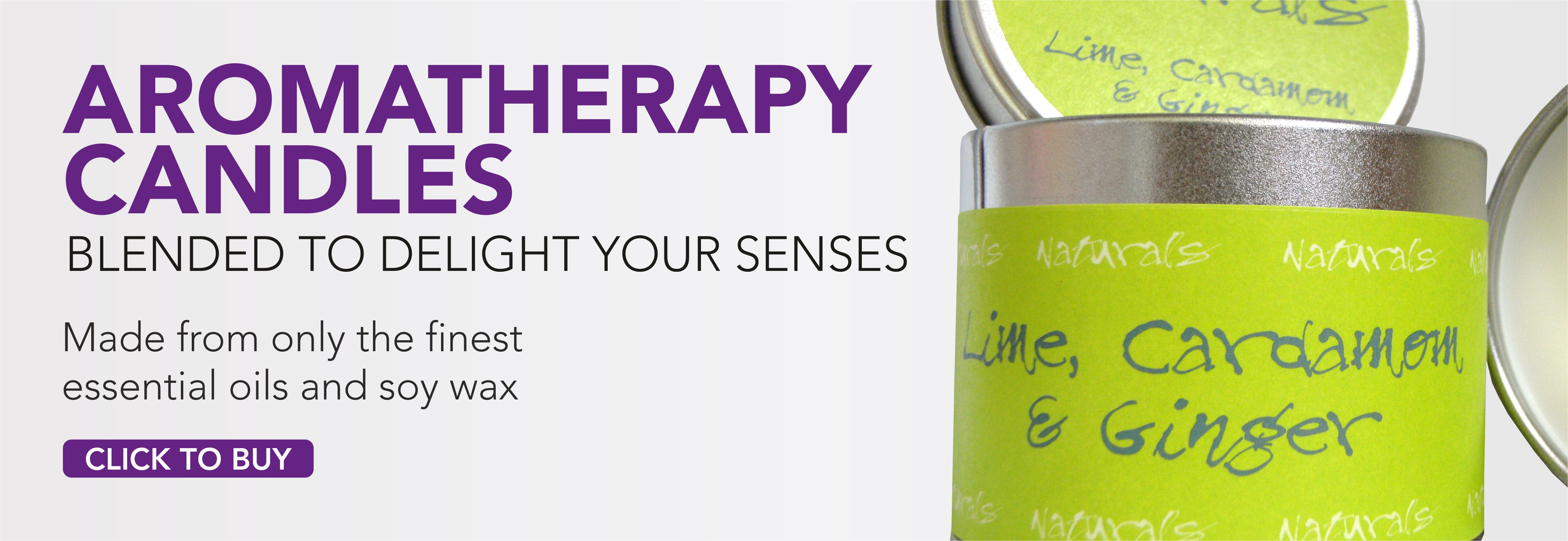 Aromatherapy Candle Web Banner 2 June 2014